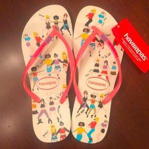 Brand New Havaianas Pop Up OMG Flip Flops